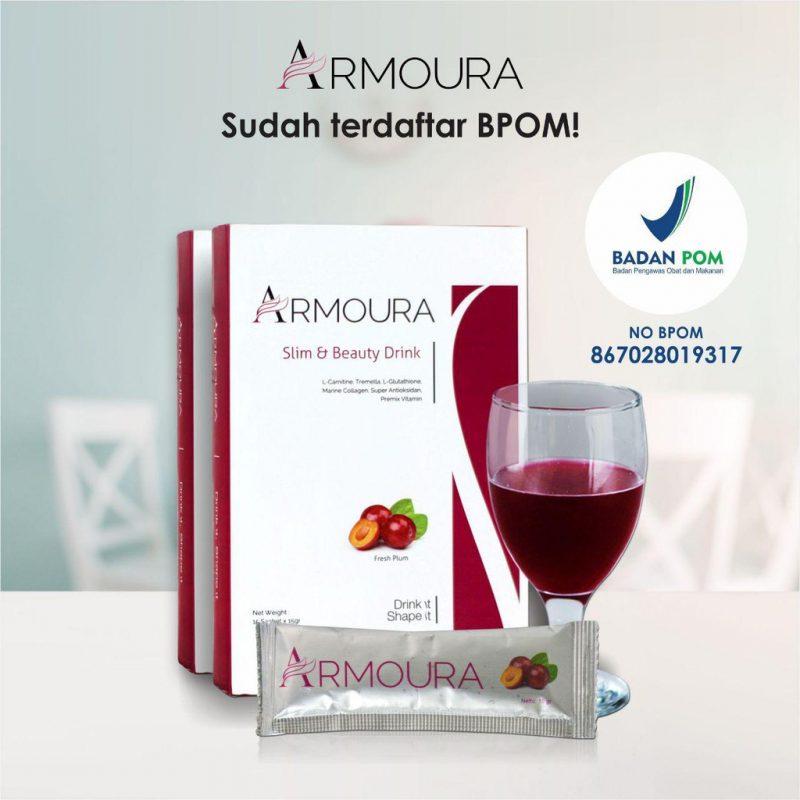 Jual Armoura Slim & Beauty Drink Surabaya √ Manfaat √