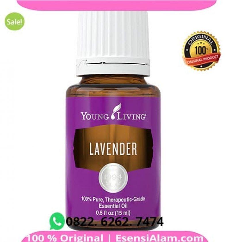 Manfaat & Kegunaan Lavender Essential Oil Young Living √