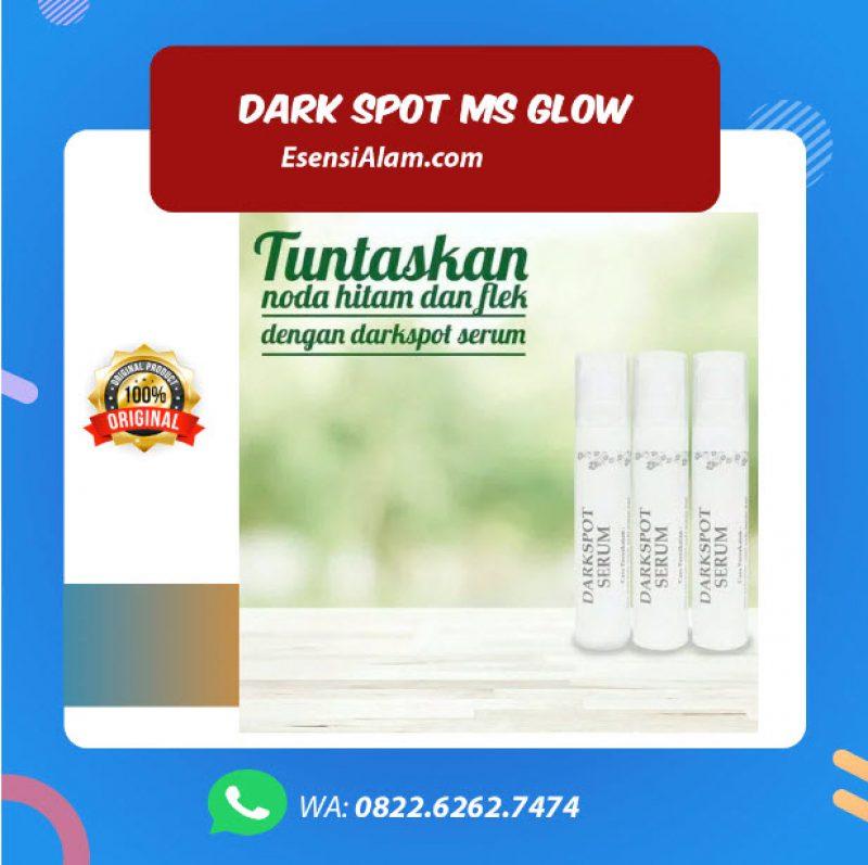 Serum Dark Spot Ms Glow, Manfaat, Kandungan, Cara Pakai