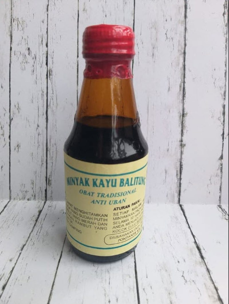 Jual Minyak Kayu Balitung Kalimantan Penghilang Uban Asli √