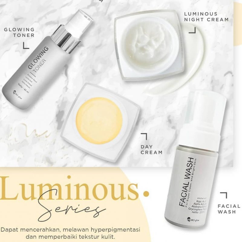 Jual Paket Whitening Luminous Ms Glow Manfaat √ Review √