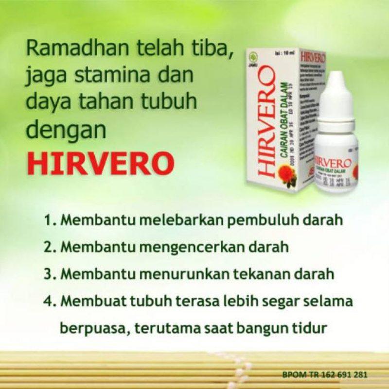 Agen Resmi, Distributor Obat Tetes Hirvero Surabaya (Manfaat, Aturan Minum)