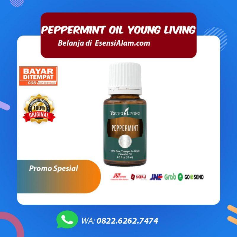 Manfaat dan Kegunaan Peppermint Essential Oil Young Living