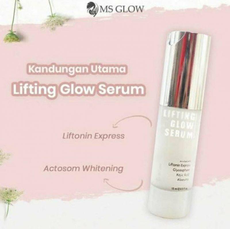 Cantik Dengan Serum Lifting MS Glow: Review + Manfaatnya! √